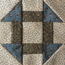 churndash block for Farmer's Wife sampler quilt