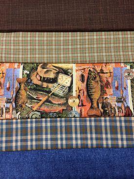 fabrics for Sherri's husband