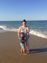Dami at the beach1