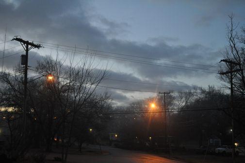 winter daybreak